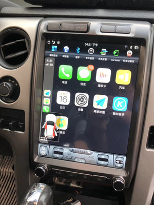 "[Open Box] Ford F-150 2009 - 2014 13"" Vertical Screen Android Radio"