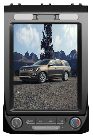 "Ford Expedition 2018 +  F-150 2015 - 2019 12.1"" Resolution Vertical Screen Android Radio Tesla Style"