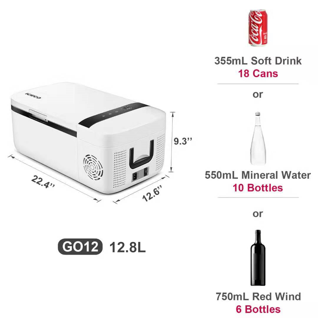 ICECO 3.17 Gallon Mini Refrigerator GO12