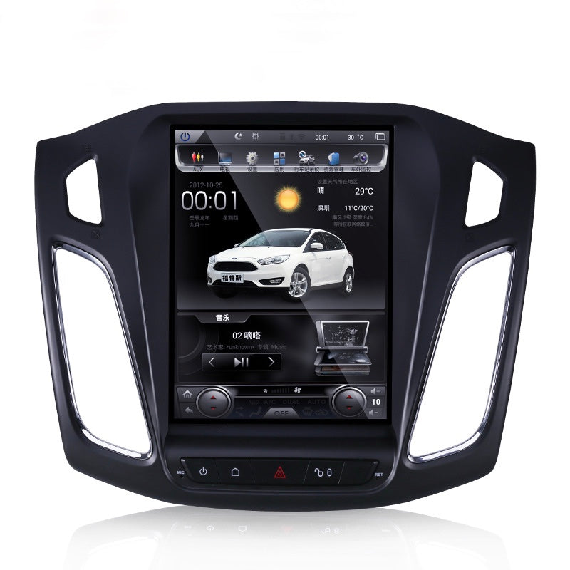 Rhino Radios Tesla Style Vertical Screen Ford Focus Android Head Unit 64G
