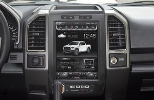 "Rhino Radios 2015 - 2018 Ford F-150 12.1"" 64G Vertical Screen Vehicle Entertainment System"