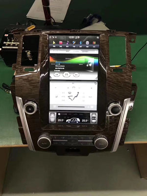 "Nissan Armada 2017 - 2019 Infiniti QX80 2014-2019 13.6"" Vertical Screen Android Radio Tesla Style with 2K Resolution"