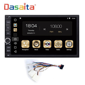 "7"" Android 8.0 Octa Core 4G+32G Universal Double 2 Din for Nissan Car Audio Stereo GPS Navigation Radio Car Multimedia"