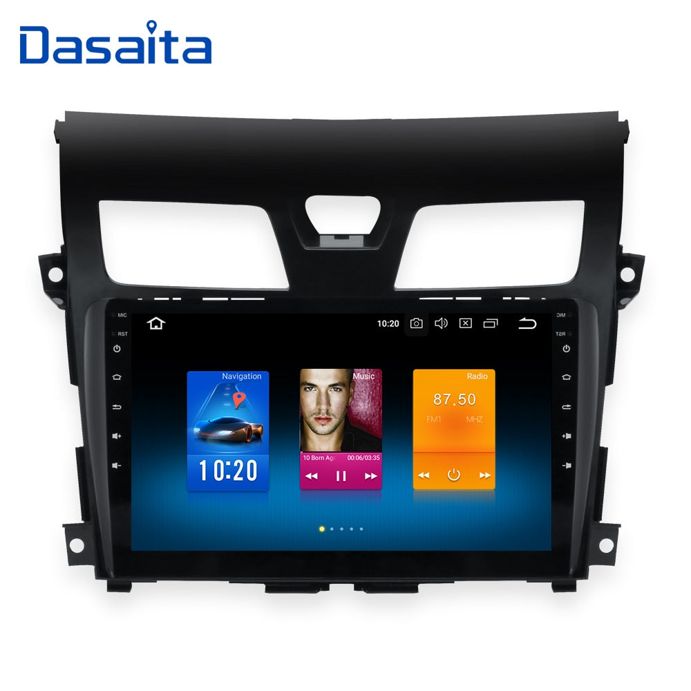 "10.2"" Android 8.0 car radio GPS for Nissan Teana Altima navigation dvd 2013 2014 2015 4G 32G steering wheel contorl BT"