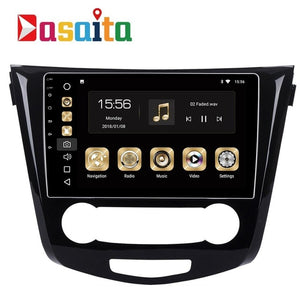 "10.2"" Android 8.0 Car GPS Radio Player for Nissan Qashqai Nissan Rogue Multimedia 2014 2015 with Octa Core 4GB+32GB Auto Stereo"