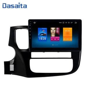 "10.2"" Android 8.0 Car GPS Radio Player for Mitsubishi Outlander 2014-2017 with Octa Core 4GB+32GB Auto Stereo Multimedia"