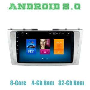 "9"" Octa-Core PX5 Android 8.0 Radio for Toyota Camry 2006-2011 with 4G RAM"