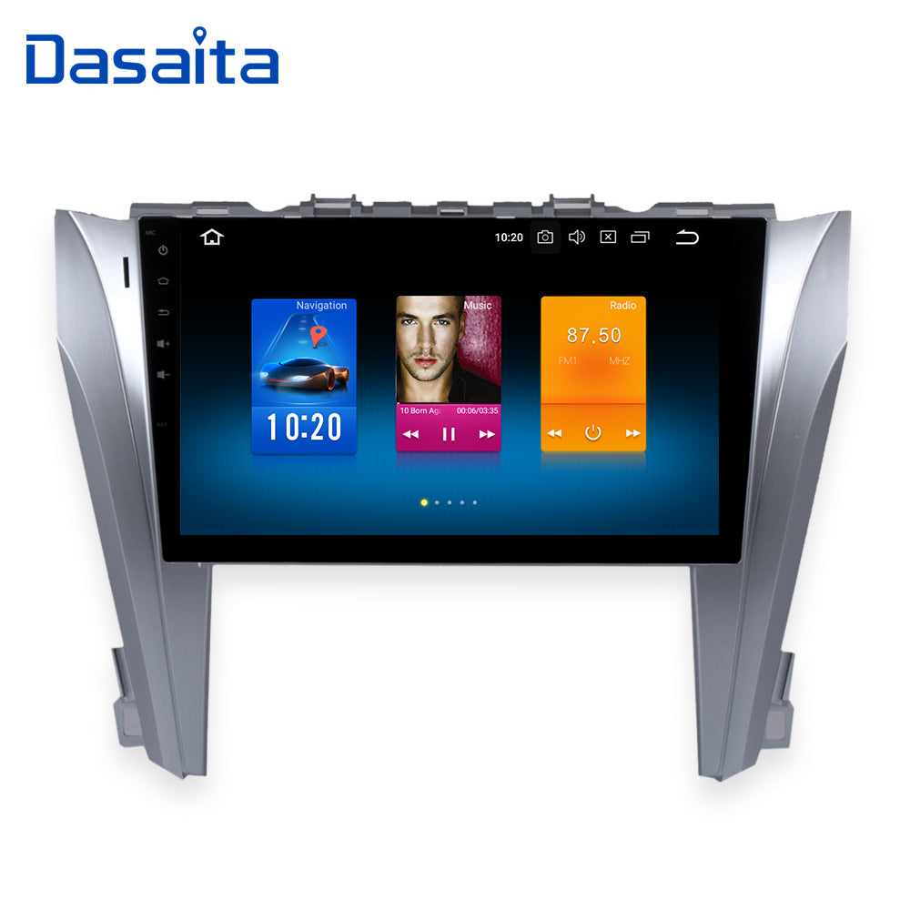"10.2"" Android 8.0 Radio for Toyota Camry 2015 2016 2 Din Head Unit Octa-Core HD 1024*600 IPS Screen"