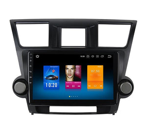 "10.2"" Android 8.0 Car Multimedia for Toyota Highlander Radio 2009 2010 2011 2012 2013 with Octa Core Navi GPS BT"
