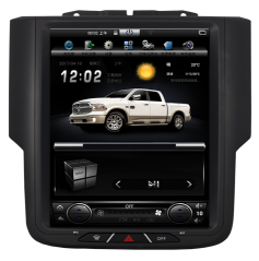 "Dodge Ram 2013 - 2018 10.4"" Vertical Screen Android Radio Tesla Style"