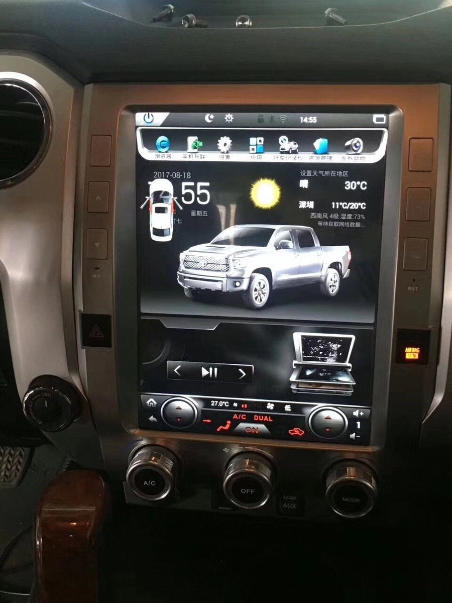 "Toyota Tundra 2015 - 2019 12.1"" Vertical Screen Android ..."