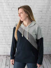 The Blocky Peek Nursing Hoodie -  Peek A Boob LLC