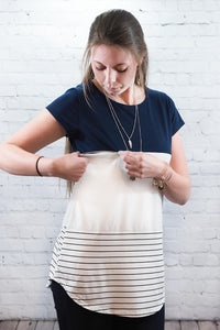The Peek Curved Hem -  Peek A Boob LLC
