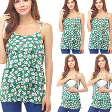 Sunflower Summer Breastfeeding Tank Top -  Peek A Boob LLC