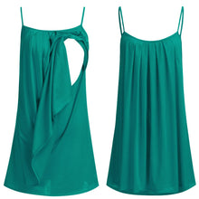 Draped Vest Breastfeeding Summer Top -  Peek A Boob LLC