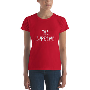 The Supreme (AHS) Women's short sleeve t-shirt -  Peek A Boob LLC