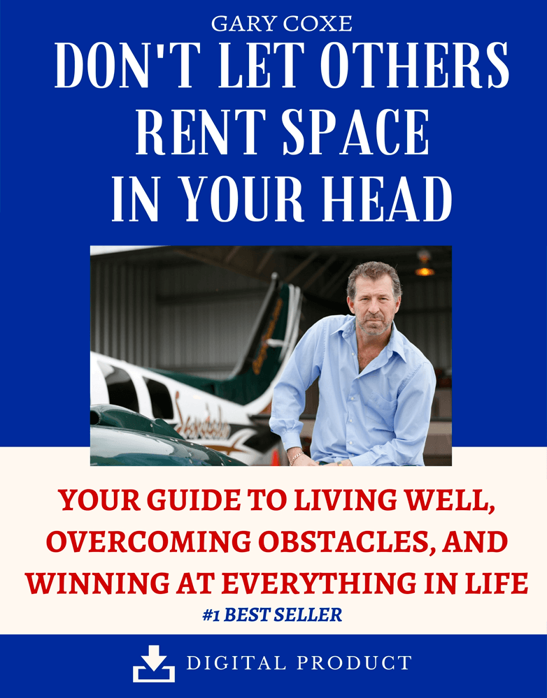 Don't Let Other's Rent Space in Your Head – Digital Audio Download
