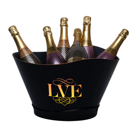 LED Light Up Champagne Bucket