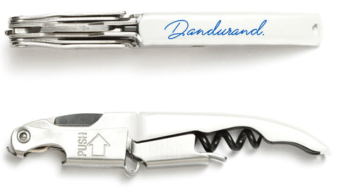 White Dandurand Innovation Coutale Sommelier Corkscrew