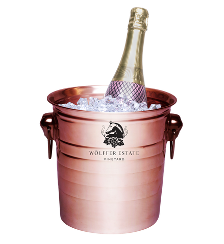 Metal Ice Bucket With Custom Logo