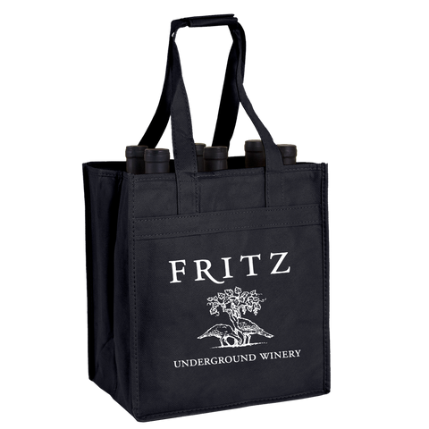 6 Bottle Wine Tote With Logo