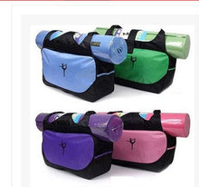 Multifunctional clothes yoga backpack yoga mat waterproof backpack yoga bag (no yoga mat)
