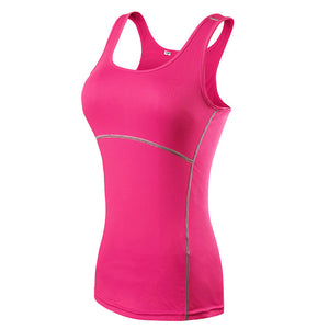 Yoga Tops Women Sexy Gym Sports Vest Fitness Running Tight Woman Sleeveless Shirt Quick Dry Fit Tank Top Yoga Wear Clothing