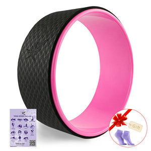 New Yoga Circle Yoga Wheel ABS Pilates Magic Circle Ring Gym Workout Back Training Tool Home Slimming Fitness Equipment