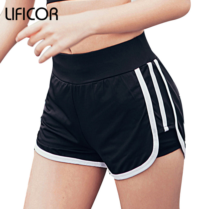 Women Sport Fitness Shorts Curve Sport Running Yoga For Ladies Athletic Shorts Gym Clothes Sportswear