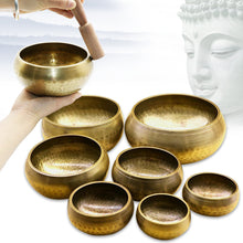 Buddhist Copper Tibetan Bowl Singing Bowl Decorative-wall-dishes Home Decoration Decorative Wall Dishes Tibetan Singing Bowl