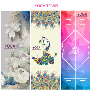 Microfiber Yoga Towel Sweat Anti-skid Portable Gym Fitness Blanket Sports Exercise Yoga mat Towel Pilates