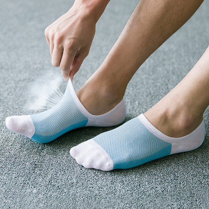 Summer Yoga Socks slippers 100% cotton invisible sports socks Non-slip Cycling