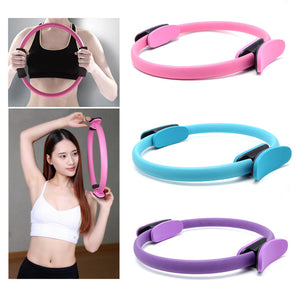 Yoga Wheel Gymnastic Circle Ring Gym Workout Back Training Tool Home Slimming Fitness Equipment
