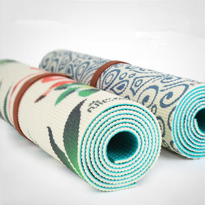 Yoga Mat Printing Double Color Sports Yoga Mats Fitness Gym Pilates Pads