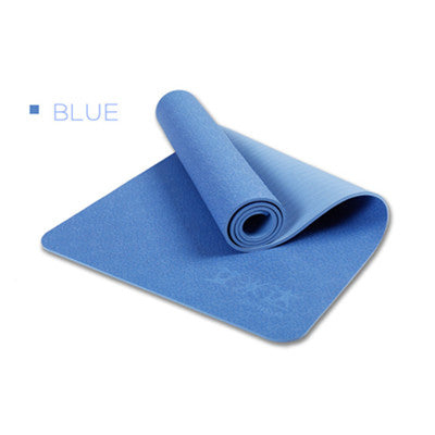 Yoga Mat Cherry Pattern Non-slip Sport Mat Pilates Pad Push-up Exercise Pad Tapis Yoga Mats