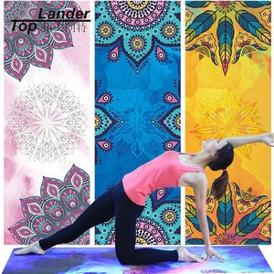 Yoga Mat Towel Microfiber Non Slip Ultra Absorbent Towel Sport Fitness Gym