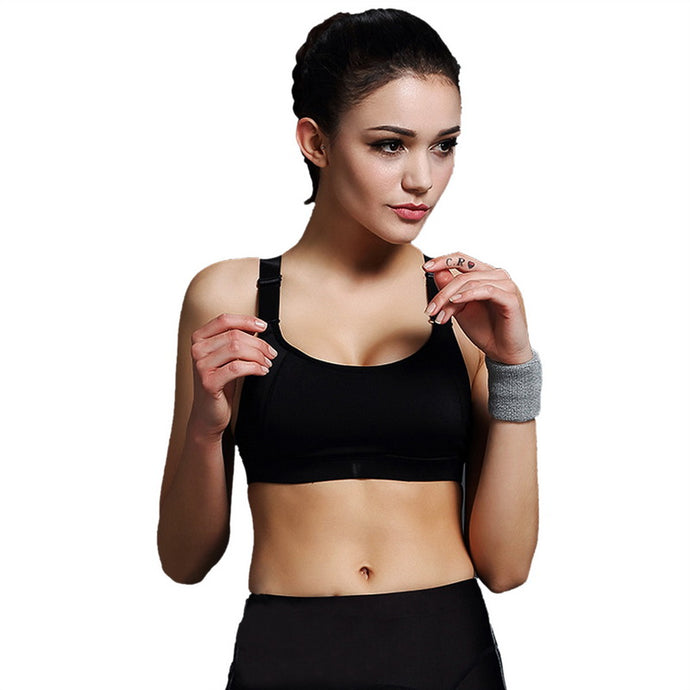 Sports Bra Women Push Up Bra For Running Gym Shakeproof Fitness Cropped Top Female Yoga Bras Vest
