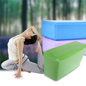 Foam Yoga Block Stretching Aid Foaming Brick Home Exercise Fitness Gym Sport Yoga