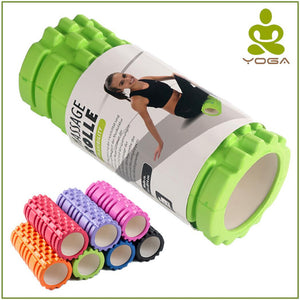 Yoga Fitness Equipment Roller Blocks Pilates for Home Gym Exercises Physio Massage