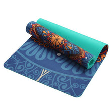 Yoga Mat 5mm For Fitness Multifunction Gym Sports Camping Exercise