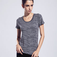 Women Sports Yoga Shirt Breathable Running Exercises Fitness T-shirt Quick Dry Tops Short Sleeve Tees