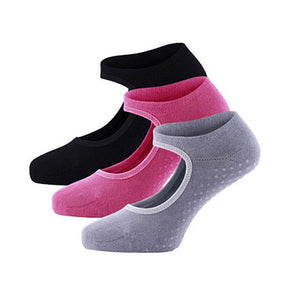 New 2018 High Quality Yoga Socks Women Terry Backless Cotton Non-slip Pilates Socks
