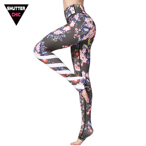 Yoga Pants Sports Leggings Fitness Women Gym Clothing Tights 2018 Running Pilates Yoga