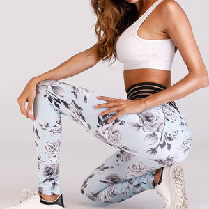 Yoga Pants Women Sports ClothingPrinted Yoga Leggings Fitness Yoga Running Tights Sport Pants