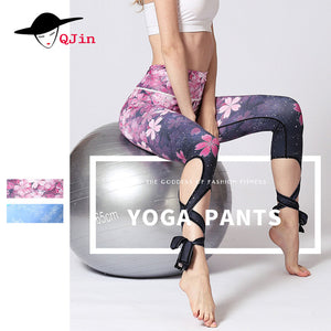 Yoga Pants Women Sports Clothing  Printed Yoga leggings Fitness Yoga Running Tights Sport Pants