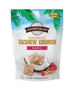 Coconut Cashew Crunch - Raspberry