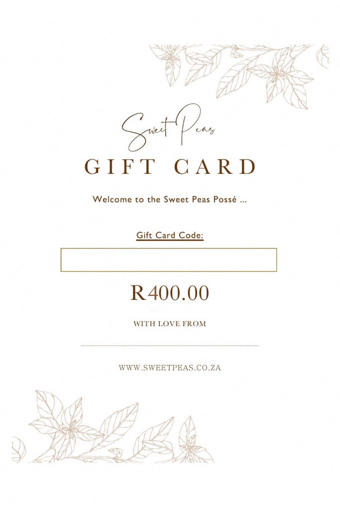 ⋒ R400 Digital Gift Card ⋒