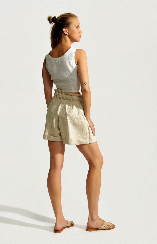 The Linen Sassy Shorts
