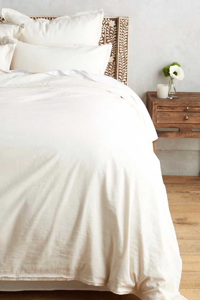 Linen Duvet Cover Set | Includes 2 Standard Pillow Cases