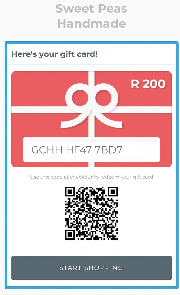 ⋒ R300 Digital Gift Card ⋒